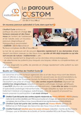 Soft tissue sarcomas - Institut Curie: sarcoma cancer